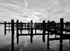 Kent Island Water in B&W(w)# (5)