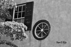 Black and White Window Glass(w)# (4)