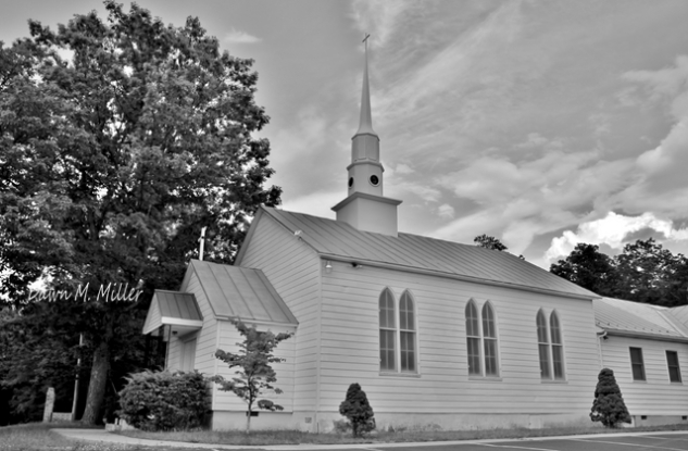 Got a picture of my friends church.