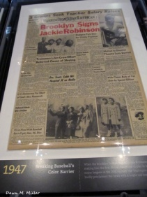 1947 Front Page of the Washington Afro American
