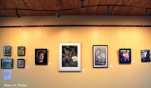 Art on the Wall at Muse Winery for the Tori Veach Show