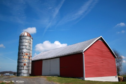 Swirls Above a Shenandoah County Barn
